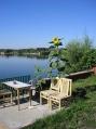 Аренда коттеджа, замка посуточно на берегу озера Подгорцы!  - вид на озеро