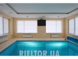 Аренда дома с бассейном посуточно Софиевская Борщаговка - бассейн выложен мозаикой