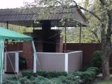 Аренда дома посуточно на Русановских садах МВЦ - барбекю