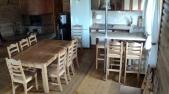 Аренда сруба посуточно  на Осокорках - кухня