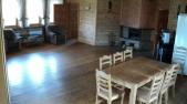 Аренда сруба посуточно  на Осокорках - студио -кухня
