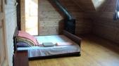 Аренда сруба посуточно  на Осокорках - спальня 1
