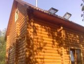 Аренда дома посуточно сруб в Голосеево!