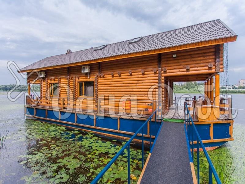 Аренда дома посуточно в Гидропарке! - дом на воде