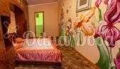Аренда дома с бассейном посуточно Софиевская Борщаговка - розовая спальня