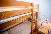 Аренда коттеджа посуточно на высоком берегу Днепра, с бассейном! - двухъярусная кровать