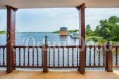 Коттедж посуточно на воде Конче-заспа - балкон