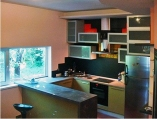 Аренда дома посуточно на Русановских садах! - студио-кухня