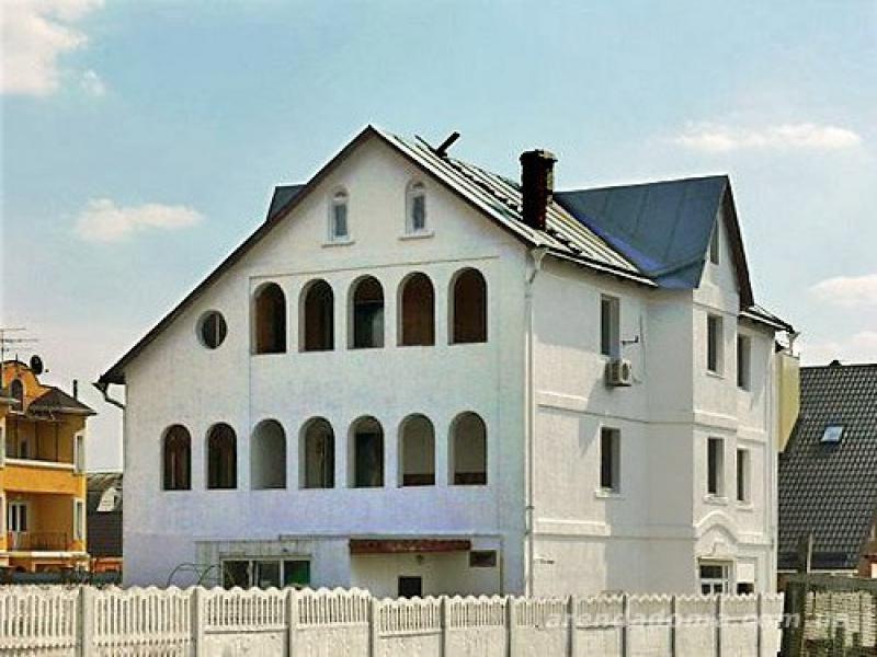 Аренда дома посуточно в Пуховке,на берегу десны! - фасад дома